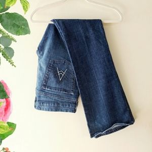 """7 for All Mankind """"A"""" Pocket Flare Jeans Size 32"""